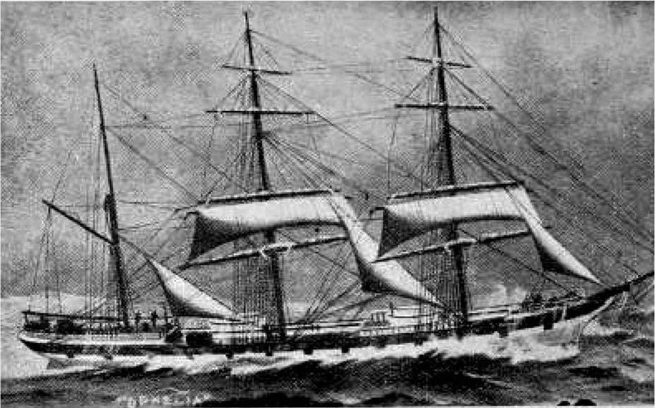 OPHELIA:Bildet av skuta er fra boka Norske seilskuter, nasjonalbiblioteket. Slike skuter brakte en gang Arendal frem til en av Norges viktigste handelspunkt. Hva gjør vi i dag, spør Birthe Hegerlund Runde.