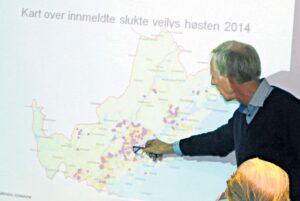 LYSMESTER:Teknisk Sjef Ole Andreas Hopstock Orienterte Formannskapet Torsdag Om De Mange Mørklagte Områdene I Arendal Kommune, Og La Skylden På Været Og Pengemangel.