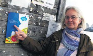 PLASS TIL TANKEN:Leder I Human-Etisk Forbund Arendal, Åse Linn Berntsen, Inviterer Til Undringsløype Med Spørsmål Som: «Kan Vi Vite Noe Med Sikkerhet?».