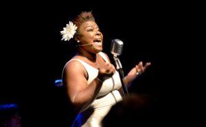 Kim Fairchild Serverte Historien Om Billie Holidays Liv Med Stort Innlevelse For Arendal Jazzklubb, Torsdag Kveld.