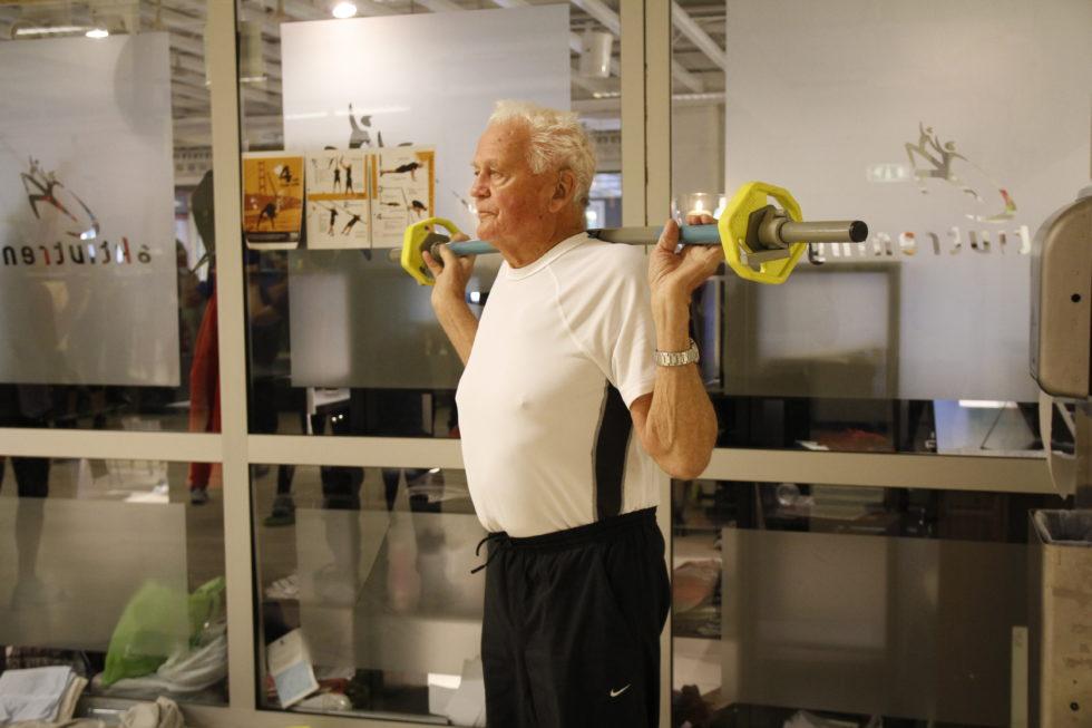 95 åring På Gymmen