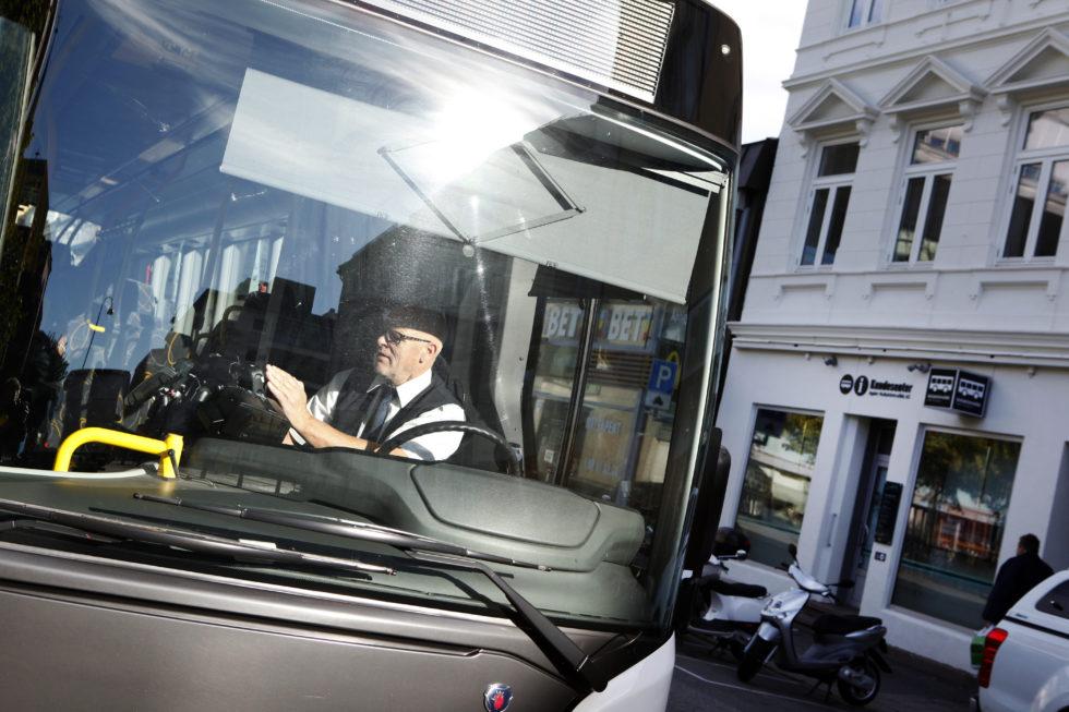 BRUKES LITE: Kun Fire Av Hundre Arendalitter Bruker Kollektivtransport Daglig. Illustrasjonsfoto: Jarle Kavli Jørgensen