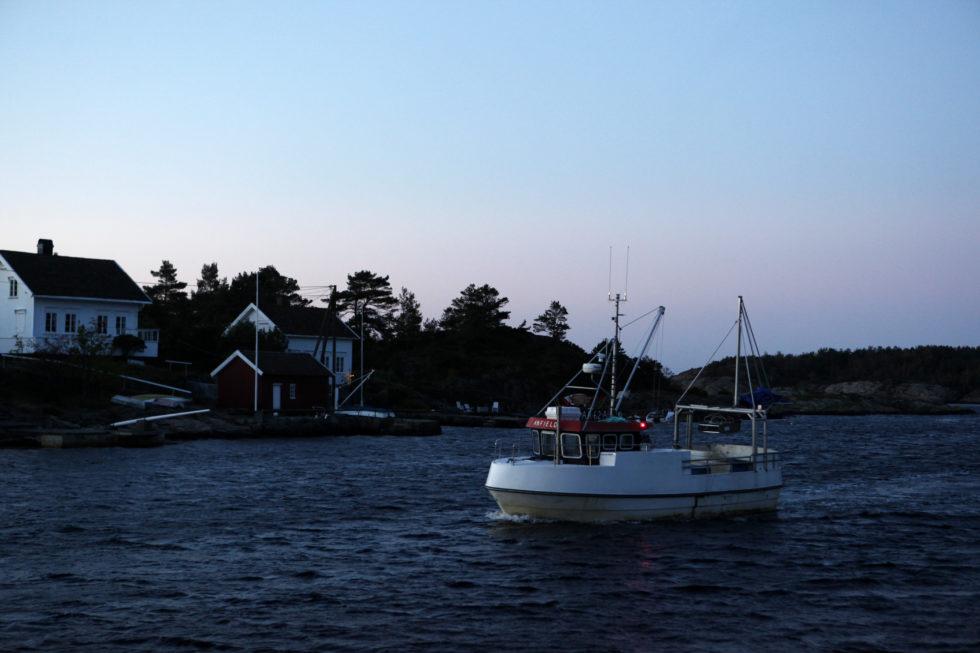 """""""ANFIELD"""": Fiskeskuta Er På Vei Gjennom Havsøysund, Nå Bes Maritim Næring Om å Invitere Nærings- Og Fiskerideptartementet På Besøk. Arkivfoto"""
