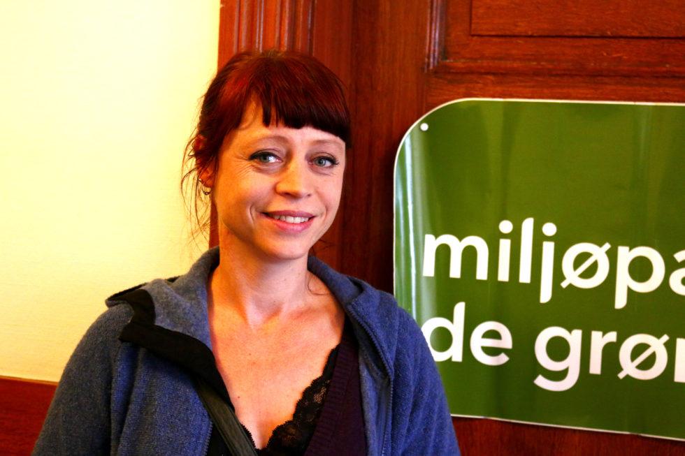 Magrete Martens Breivik Skal Representere Miljøpartiet De Grønne I Bystyret I Arendal. Vi Har Sett Nærmere På Hva Partiet ønsker å Gjøre Med Arendal. Foto: Esben Holm Eskelund