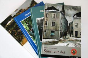 ÅRBOKSESONG: På Tampen Av året Er Det Høysesong For Lokale årbøker.