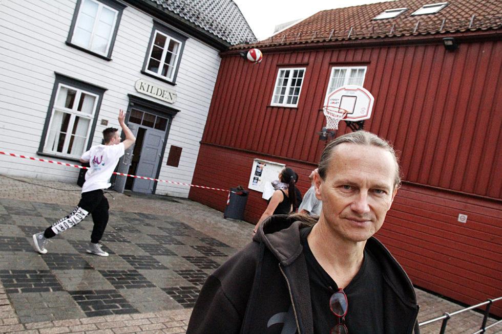 UNDGOMSLEDER: Bård Torstensen ønsker Nye Og Gamle Brukere Av Kilden Velkommen. Foto: Jarle Kavli Jørgensen.