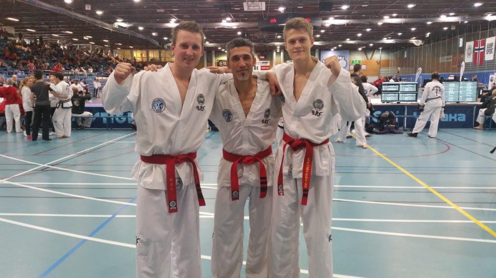 Taekwondo: Avsluttet Karrieren Med To Gull
