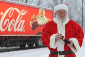 Coca-Cola-traileren Kommer Til Arendal. Foto: Coca-Cola