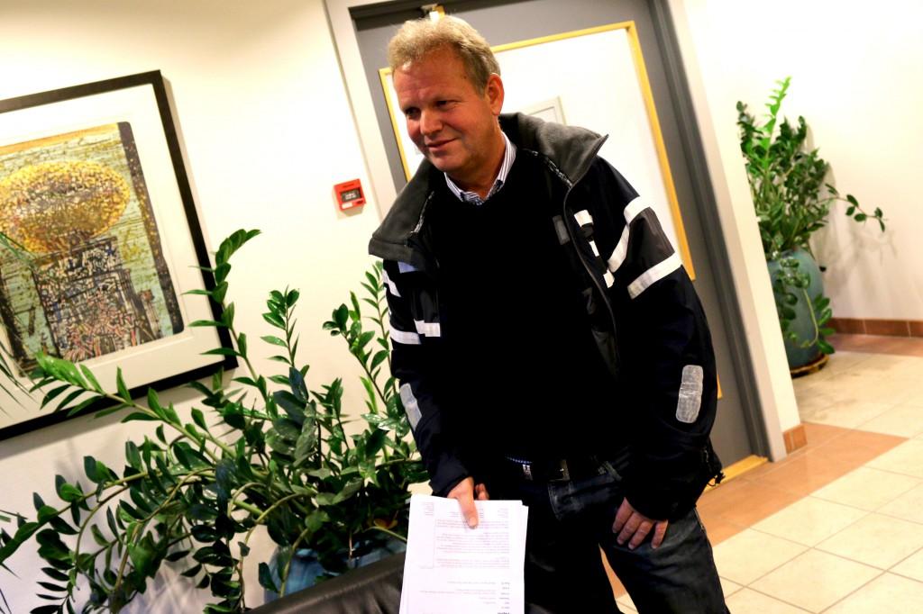 GIR SEG: Etter fem år som prosjektleder for E18-utbyggingen mellom Arendal og Tvedestrand har Harald Tobiassen valgt å trekke seg som prosjektleder. Foto: Esben Holm Eskelund
