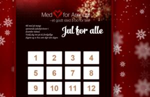 FOR ALLE: Med Hjerte For Arendal Har Laget Digital Julekalender. Foto: Skjermdump