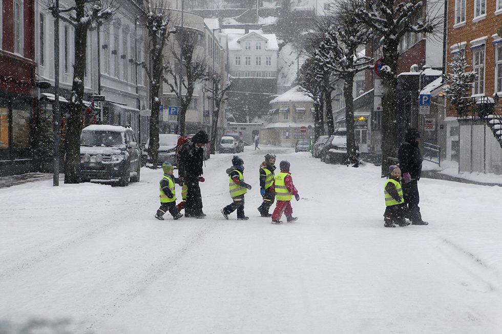 Snø Så Langt Værvarselet Rekker