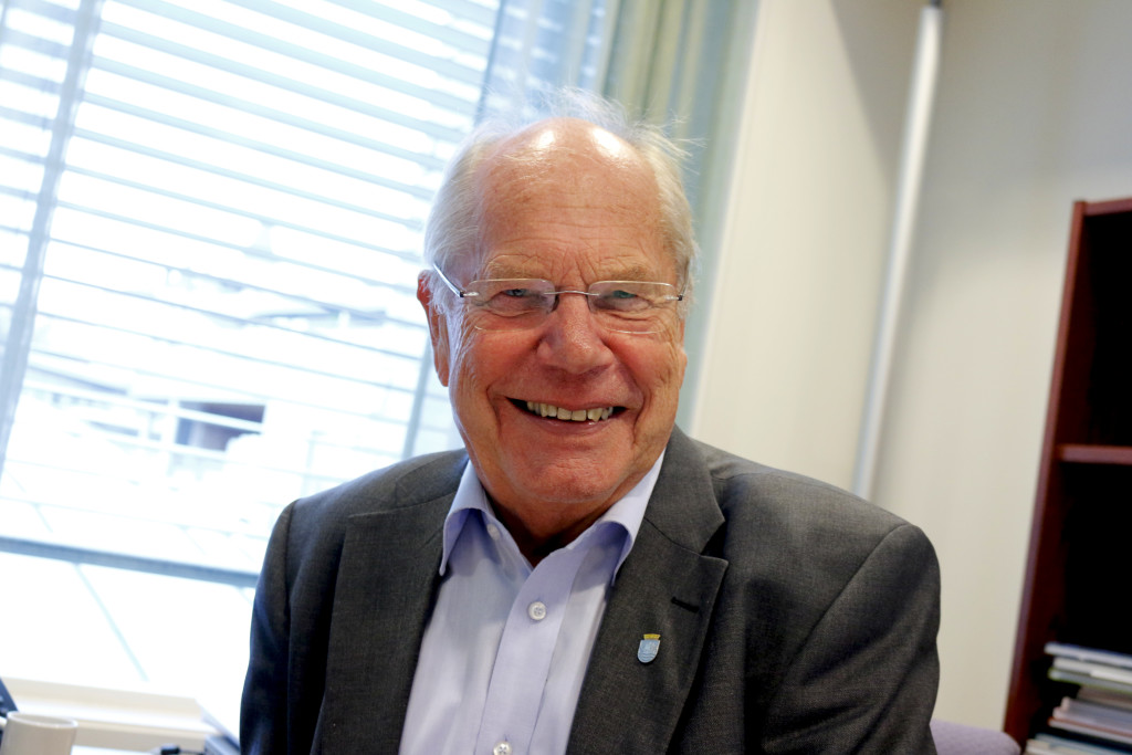 BLIR SKIPPER: Einar Halvorsen fra Høyre er nyvalgt medlem til stiftelsen Brattekleiv Skipsverft. Arkivfoto.