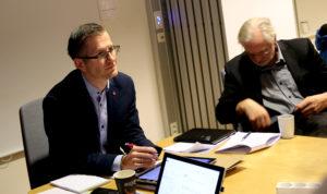 INVITERER: Ordfører Robert C. Nordli I Arendal Lukker Ikke Døren For Kommunesammenslåing I Østre Agder. Foto: Esben Holm Eskelund