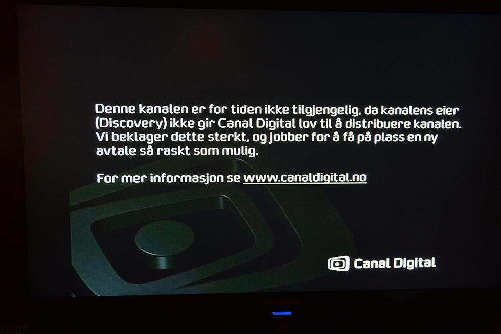 TVkanalkonflikt: En Million Seere Mistet 13 Kanaler I Natt