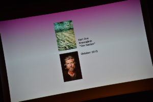 """Karl Ove Knausgård Ble Nominert For Boka """"Om Høsten""""."""