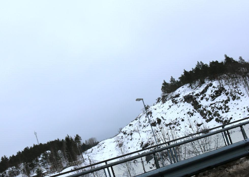 NYE VEIER I ARENDAL: Ved Stølen Er Innslaget Til E18 Mot Tvedestrand Blitt Svært Synlig. Foto: Esben Holm Eskelund