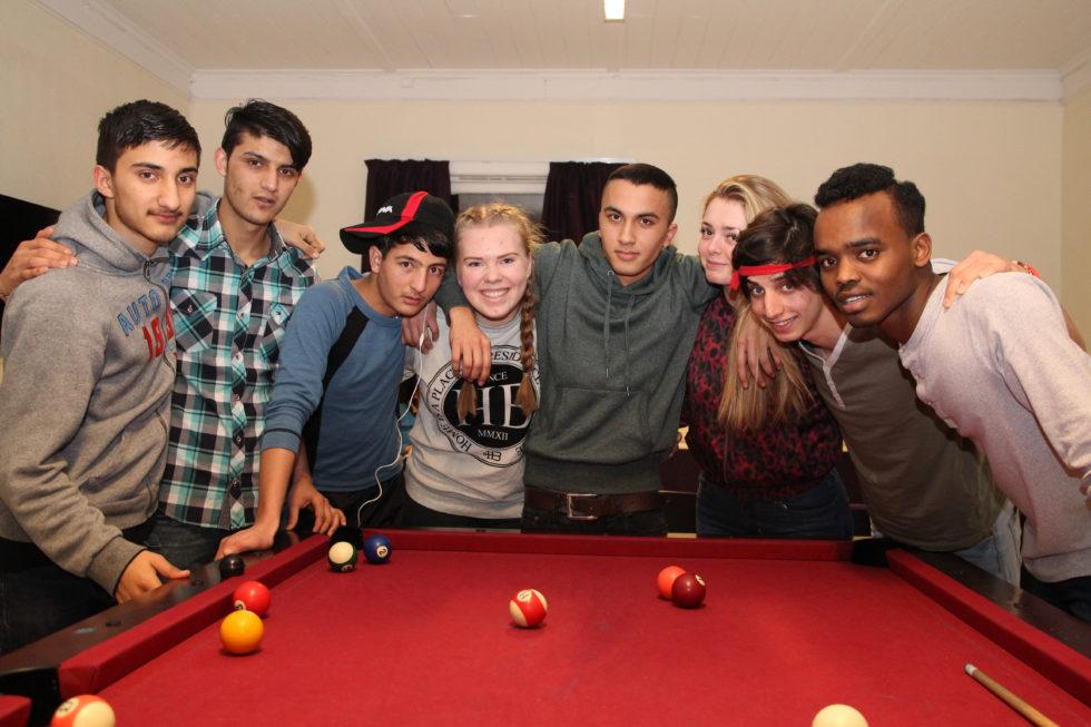 Ungdom Tar Ansvar For Integrering