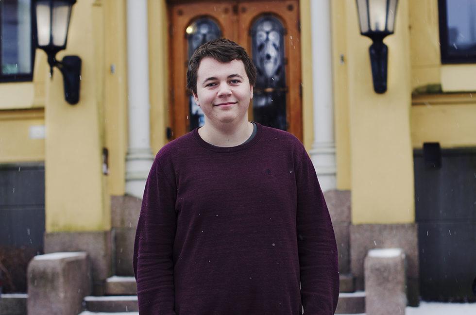 VIL SAMLES: Magnus Haugmoen Handegaard ønsker En Felles Markering Av 8. Mars I Arendal. Foto: Noemy Clori