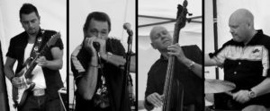"BLUESKONSERT: Lørdag Kveld Inntar Bluesbandet ""Solid Comfort"" Scenen På Barrique. Pressefoto."
