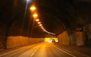 UTBEDRES: Havstad-tunnelen Skal Oppgraderes. Bedre Lys Er Et Av Målene Med Tiltakene På Fylkesveitunnelen. Arkivfoto: Esben Holm Eskelund