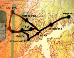 ARENDALSBANE: En Sentrumsfokusert Bybane I Arendal Kan Løse Mange Trafikale Utfordringer. Illustrasjon: Esben Holm Eskelund