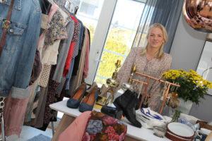 MARKED: Thone Louise Frydenlund ønsker Stort Engasjement Rundt Folkemarked I Arendal. Foto: Grete Husebø