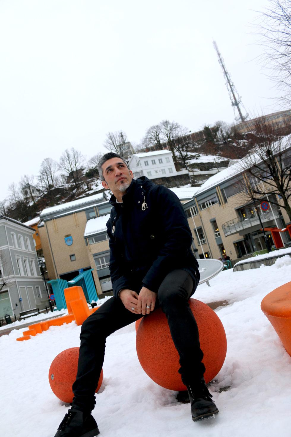 INNVANDRERRÅDET: André Roshan Skal Lede Innvandrerrådet I Arendal De Neste årene. Foto: Esben Holm Eskelund