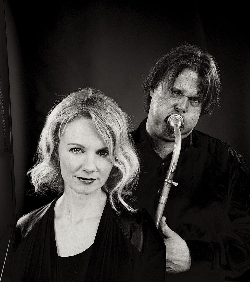 JAZZSCENEN: Camilla Susann Haug Og Lars Andreas Haug Skal Opptre På Lørdagens Jazzscenen På Canal Street. Pressefoto: CF-Wesenberg