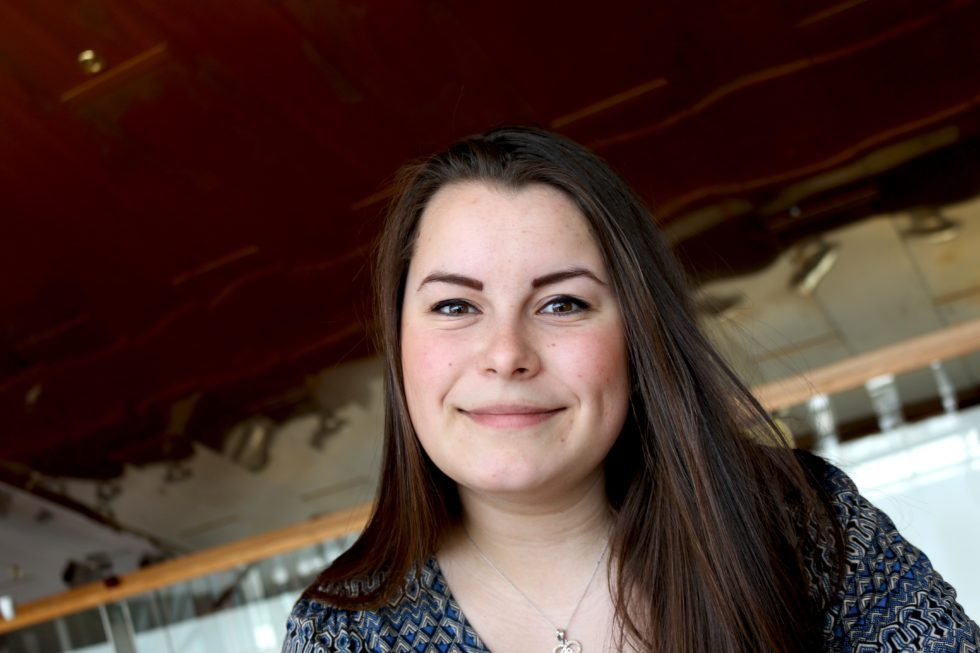 KVNNEKONTAKT: Jelena Høegh-Omdal, Arbeiderpartiet I Arendal. Foto: Esben Holm Eskelund