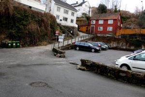 AVFALLSANLEGG: Nesbakken I Sentrum Kan Få Nedgravd Avfallsanlegg. Foto: Esben Holm Eskelund