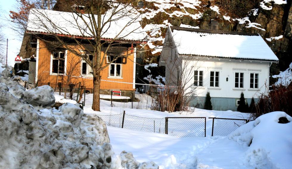RIVES: Disse To Kommunalt Eide Boligene Skal Rives. Det Har Styret I Arendal Eiendom KF Gått Inn For. Foto: Esben Holm Eskelund