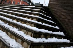 SKJEMMENDE: Under «snøhetta» Ligger Plank Som Kan Gi Deg Flis I Fua Og Som Nå Skal Skiftes Ut. Foto: Esben Holm Eskelund