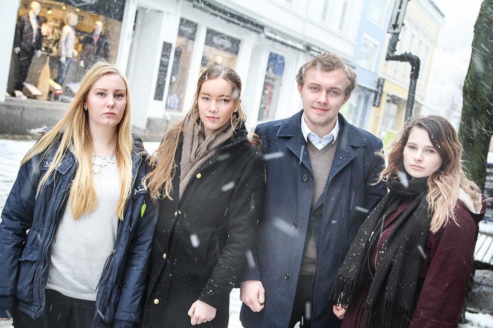 Ungdomspartiene Fikk Nok Av Politisk Splittelse:  Arrangerer Tverrpolitisk 8. Mars-tog