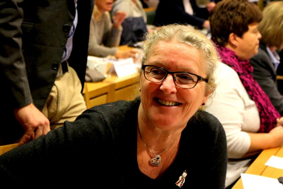 ORDFØRERKANDIDAT: Milly Grundesen Er Foreslått Som Arendal Senterpartis Ordførerkandidat. Arkivfotov