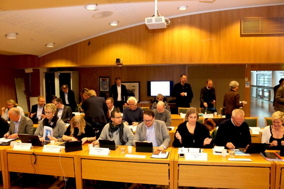 DIREKTE: Følg Bystyremøtet I Arendal