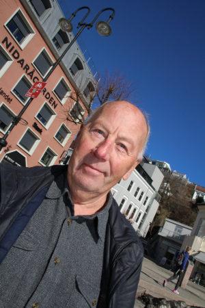 TILFELDIG: Hans Nikolai Terjesen Kom Over Utgravningene Ved Gullkapp Ved En Tilfeldighet. Foto: Elin Gjeruldsen