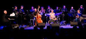"""INNSIDEHANDEL: Scheen Jazzorkester Starter Miniturneen Med Konsertprosjektet """"Innsidehandel 3"""" I Arendal Torsdag Kveld. Foto: Ketil Hardy."""