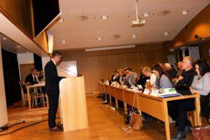 GOD AVTALE: Ordfører Robert C. Nordli Mener 4K-Øst-avtalen Er En God Avtale. Et Enstemmig Bystyre Gikk Inn For Den. Foto: Esben Holm Eskelund