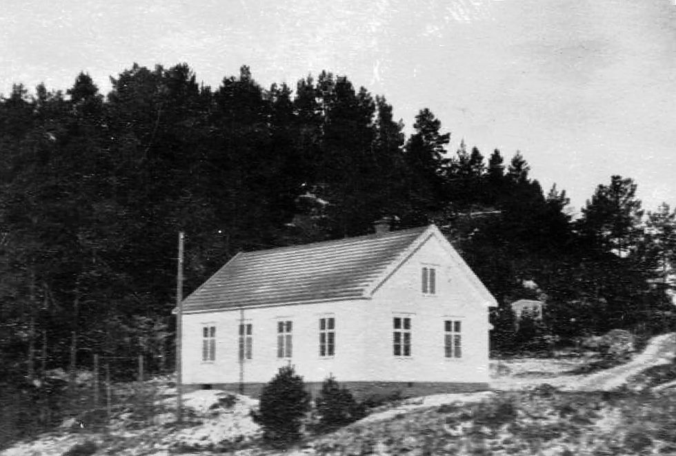 HUSET:  Åsheim Ungdomslokale Slik Det Så Ut På 1950-tallet. Foto: Hisøy Historielag.