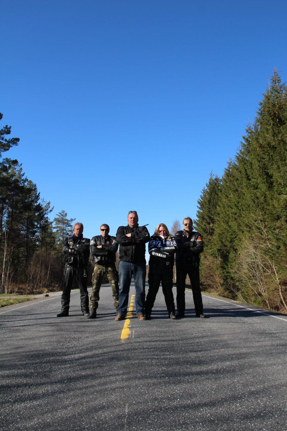 Byens Motorsyklister Er Klar For Vårslipp