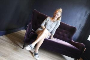 SNART KLART: Johanna Sundqvist Ser Frem Til å åpne Ny Bar På Tyholmen Til Helgen. Foto: Grete Husebø