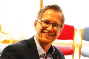 MARATONMØTE: Ordfører Robert C. Nordli Varsler Et Omfattende Bystyremøte På St.Hansaften. Arkivfoto: Esben Holm Eskelund