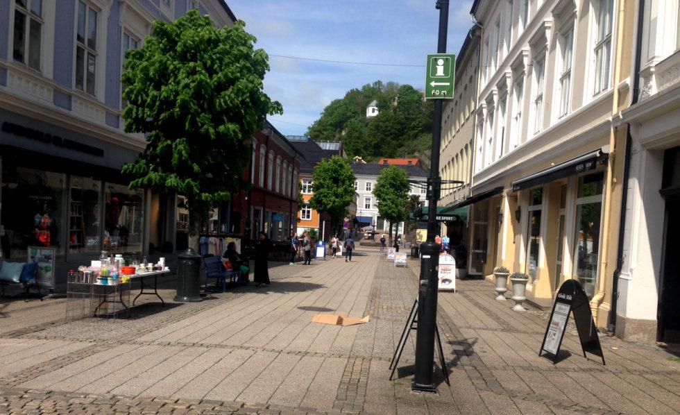 «Øker Spenningen» I Arendal Sentrum