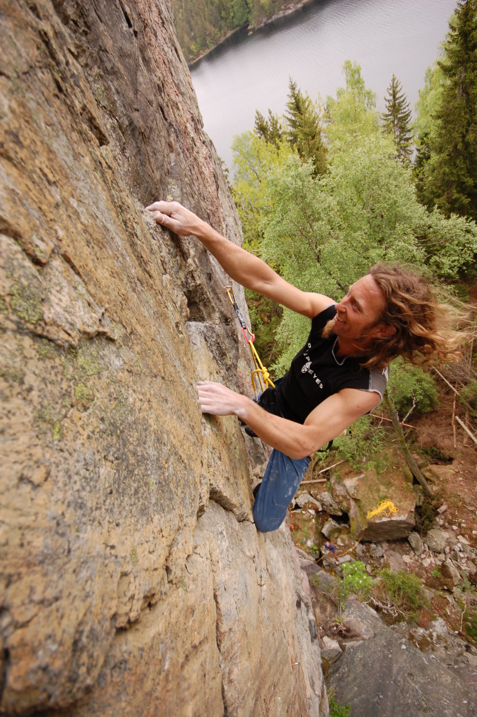 IVRIG: Børre Bergshaven Har Klatret I 26 år Og Lagt Ned Stor Innsats I Klatremiljøet. Foto: Privat
