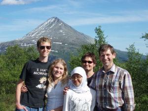 REISE: Etter At En Familie Har Tatt Imot En Utvekslingsstudent Velger Mange å Reise Til Studendes Hjemland På Besøk. Foto: AFS