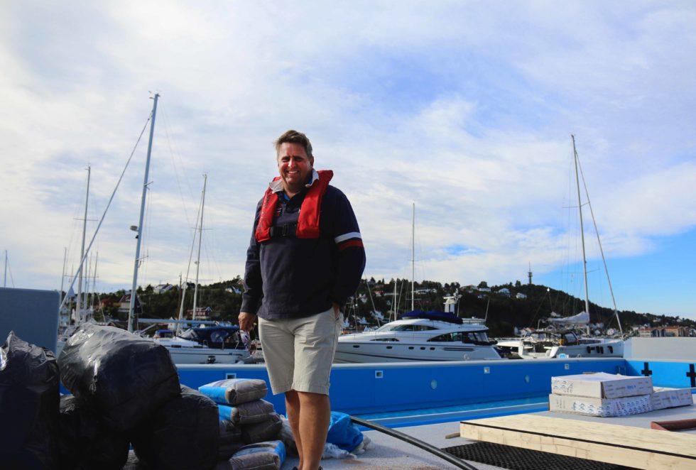 BADEMESTER: Claes Olsen Er Prosjektleder På Svømmeanlegget I Arendal Gjestehavn. Foto: Esben Holm Eskelund