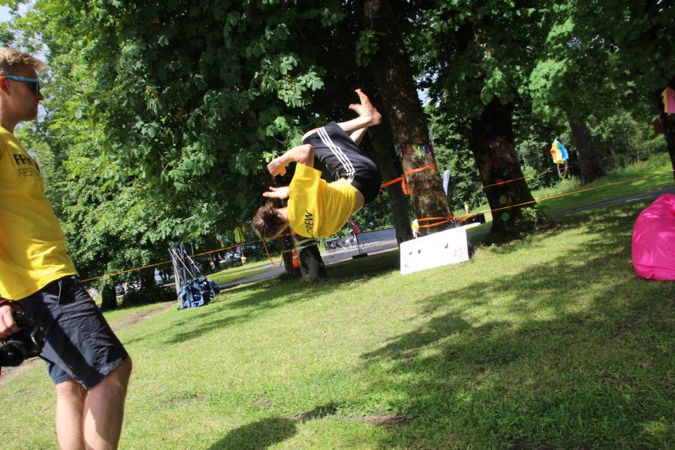 Actionfylt Festival På Hove
