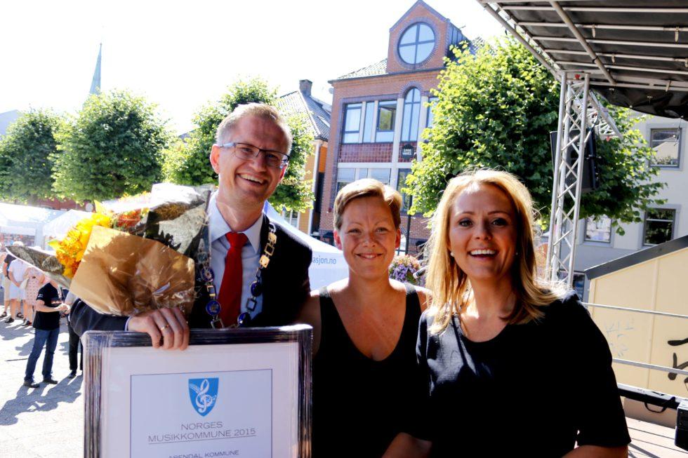 Arendal Kommune Kåret Til årets Musikkommune