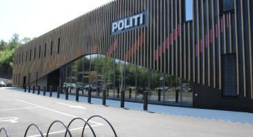 NY STASJON: Arendal politistasjon på Stoa åpner opp for publikum lørdag. Foto: Elin S. Gjeruldsen