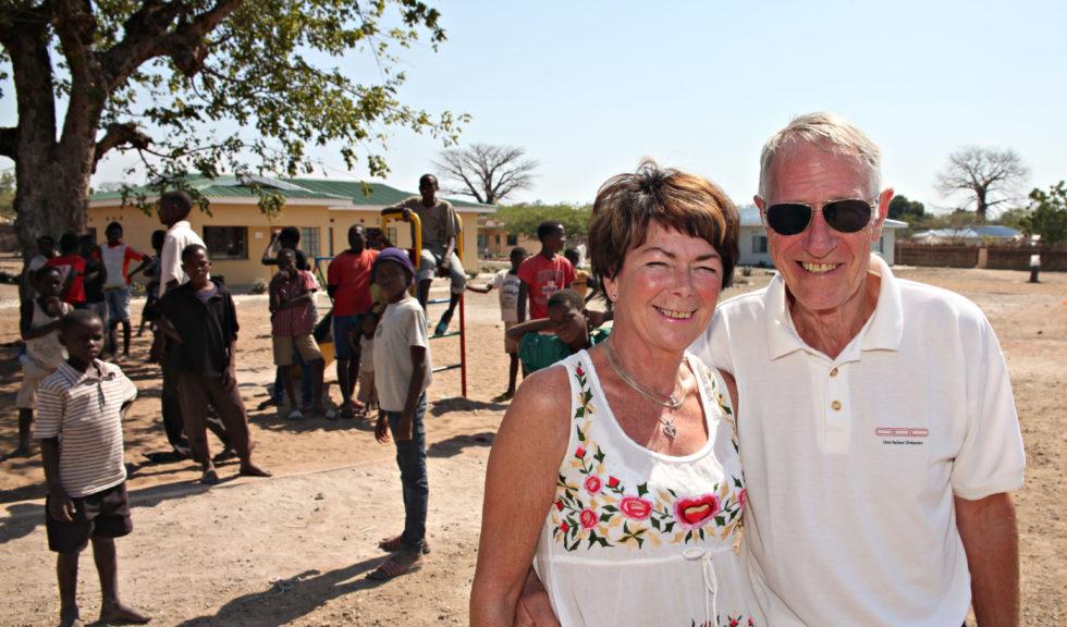 Var Med å åpne Barneby I Malawi